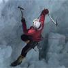 Пакистан Kanjut Sar 7760м. 2010. Организация навесной переправы при преодолении первой ступени ледопада в лагерь 1.