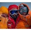 Симоне Моро, Кори Ричардс и Денис Урубко на вершине Гашербрум II после исторического первого зимнего восхождения.
