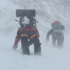 Штормовой ветер на высоте 6600 м. Фото из архива Максута Жумаева