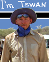 Всё что угодно можно встретить в пустыне Калахари -эта страна полна загадок! СЕМЬ ПУСТЫНЬ МИРА-2008 на входе!