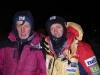 Кшиштоф и Денис в базовом лагере после спасработ . Photo by  Monika Rogozinska