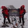 Команда проекта на вершине Аконкагуа