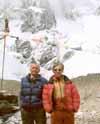 Сувига и Бабанов в базовом лагере