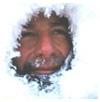 МАршрут Жиля Элькема по Чукотке - от Валькаркая до Ванкарема на 2 марта 2004