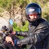 Сергей Синельник на трассе Е-7 - Альпы