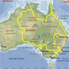 Маршрут команды братьев Синельников по Австралии - западная ветка его- сквозь Три пустыни!