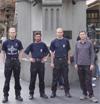 Команда (без фотографа Андрея Сармина) у памятника Королевы Виктории, Сидней