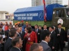 Владимир Путин и Федор Конюхов на старте экспедиции. Фото: Оскар Конюхов