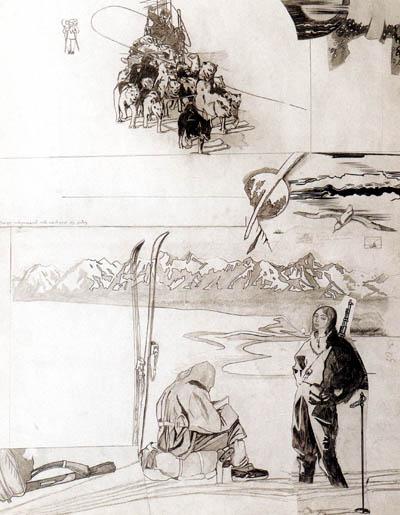 Графика Ф. Конюхова