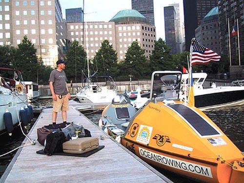 переход через атлантику на лодке