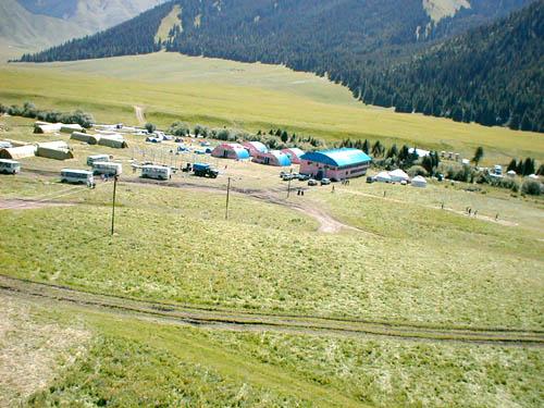 Лагерь Акколь с вертолета. http://www.ipvnews.com/rus