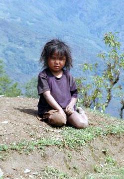 Непальская девочка Фото Олега Загайнова