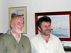 старейшина ледовых яхтсменов Вилли де Роос