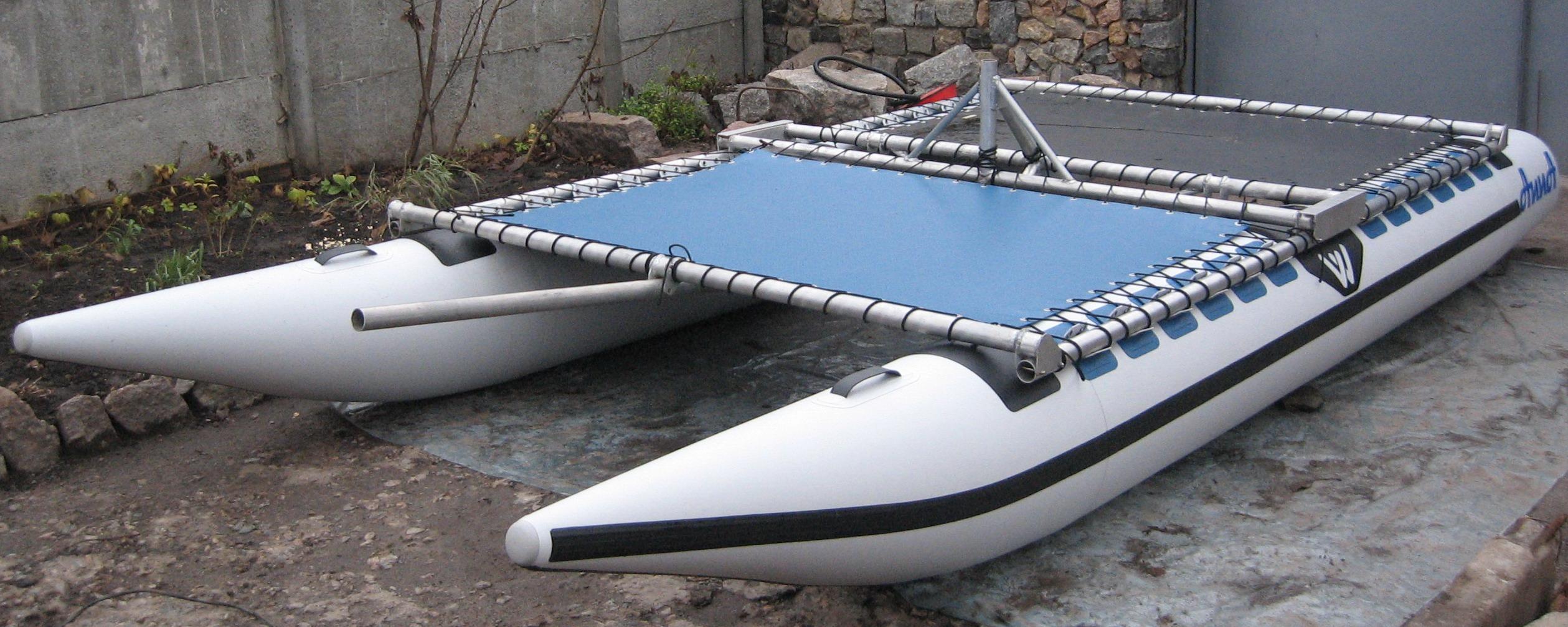 надувные поплавки из пвх для катамарана