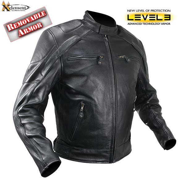 Поиск по размерам.  S. M. L. Мужская черная мотоциклетная куртка Xelement.