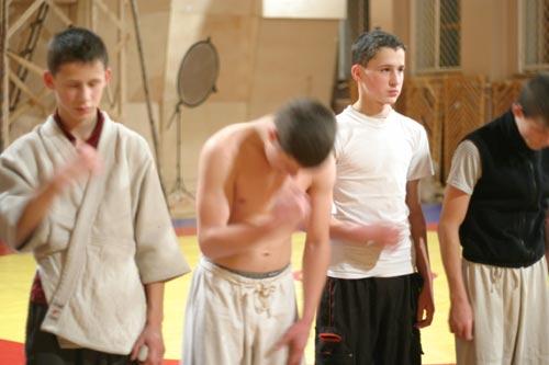 Молитва перед тренировкой