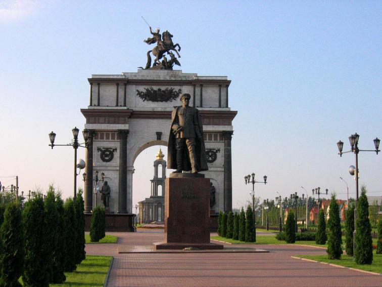 VVV.RU Фотографии Архитектура аллея победы Курск.